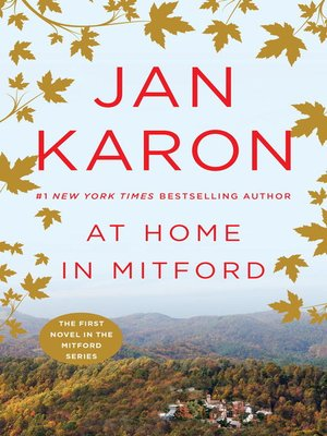 Click this cover for a(n) eBook sample of At Home in Mitford