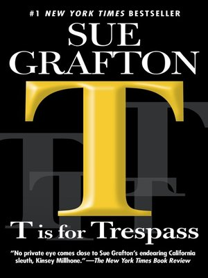 "Click this cover for a(n) eBook sample of ""T"" is for Trespass"
