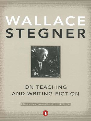 Cover of On Teaching and Writing Fiction