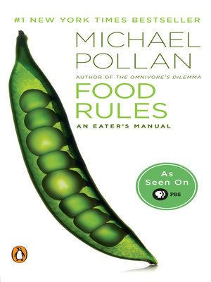 Click this cover for a(n) eBook sample of Food Rules.