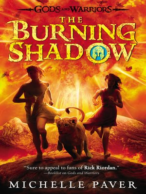 Click this cover for a(n) eBook sample of The Burning Shadow