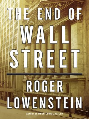 Click this cover for a(n) eBook sample of The End of Wall Street