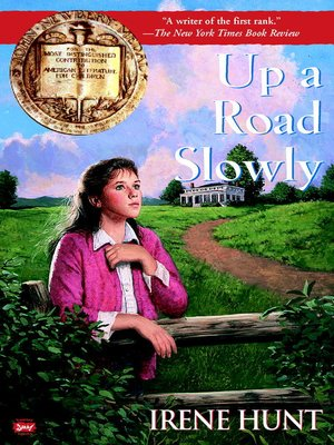 Click this cover for a(n) eBook sample of Up a Road Slowly.