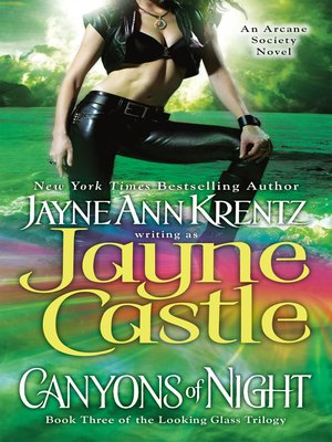 Click this cover for a(n) eBook sample of Canyons of Night.