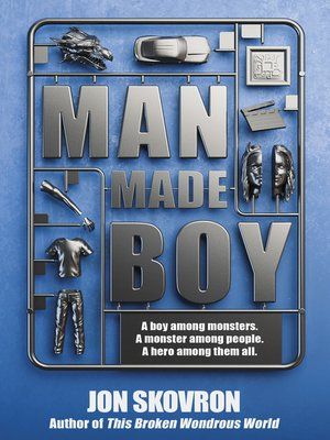 Click this cover for a(n) eBook sample of Man Made Boy.