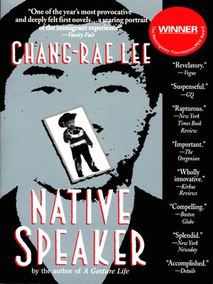 Click this cover for a(n) eBook sample of Native Speaker