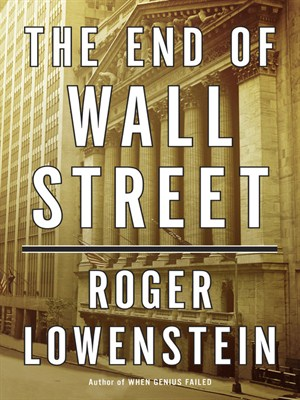 Click this cover for a(n) Audiobook sample of The End of Wall Street.