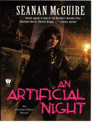 Click this cover for a(n) eBook sample of An Artificial Night.