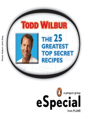 The 25 Greatest Top Secret Recipes