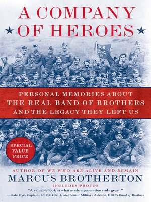 Click this cover for a(n) eBook sample of A Company of Heroes