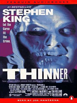 Click this cover for a(n) Audiobook sample of Thinner.