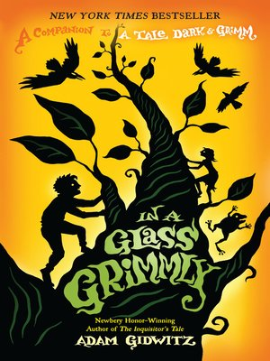 Click this cover for a(n) eBook sample of In a Glass Grimmly.