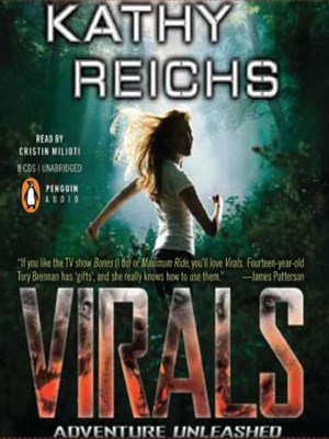 Click this cover for a(n) Audiobook sample of Virals.