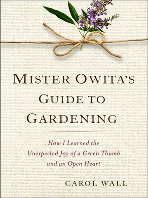 Click this cover for a(n) eBook sample of Mister Owita's Guide to Gardening.