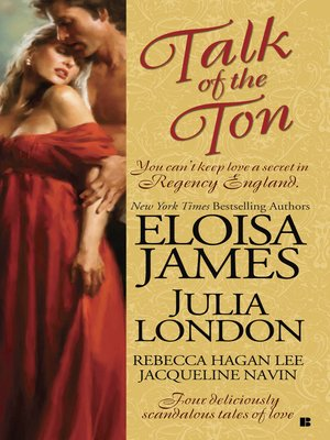 Click this cover for a(n) eBook sample of Talk of the Ton