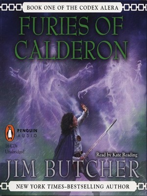 Click this cover for a(n) Audiobook sample of Furies of Calderon.