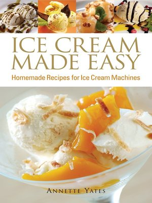 Cover of Ice Cream Made Easy