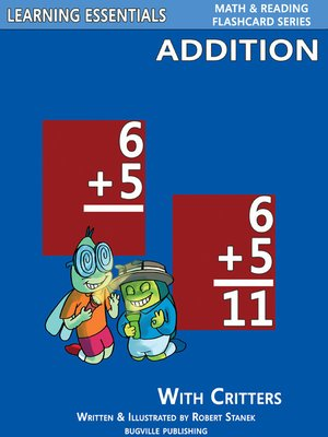 Click this cover for a(n) eBook sample of Addition Flashcards