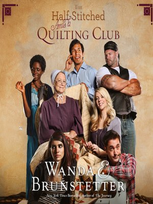 Click this cover for a(n) Audiobook sample of The Half-Stitched Amish Quilting Club.