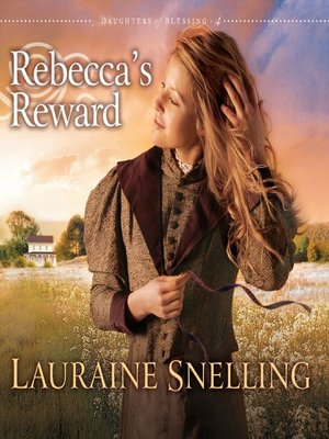 Click this cover for a(n) Audiobook sample of Rebecca's Reward.