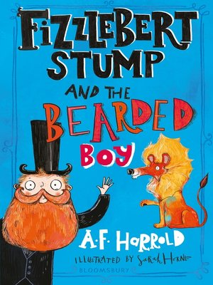 Click this cover for a(n) eBook sample of Fizzlebert Stump and the Bearded Boy.