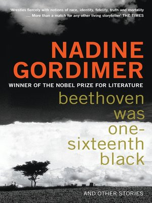 Cover of Beethoven Was One-Sixteenth Black