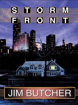 Click this cover for a(n) Audiobook sample of Storm Front.