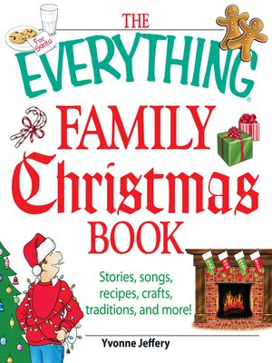 Click this cover for a(n) eBook sample of The Everything Family Christmas Book