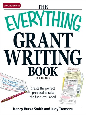 Click this cover for a(n) eBook sample of Everything Grant Writing Book
