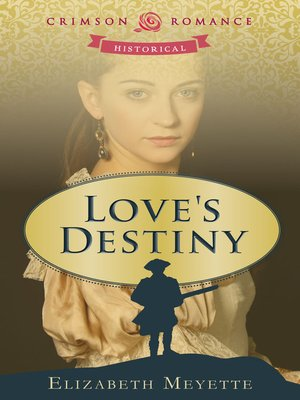 Click this cover for a(n) eBook sample of Love's Destiny.