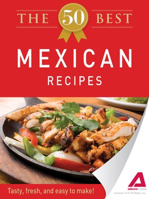 Click this cover for a(n) eBook sample of The 50 Best Mexican Recipes.