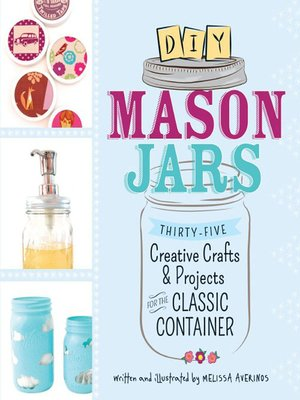 Click this cover for a(n) eBook sample of DIY Mason Jars