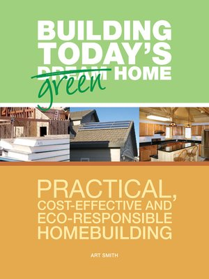 Click this cover for a(n) eBook sample of Building Today's Green Home.