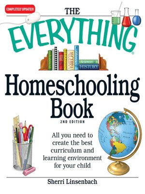 Click this cover for a(n) eBook sample of The Everything Homeschooling Book