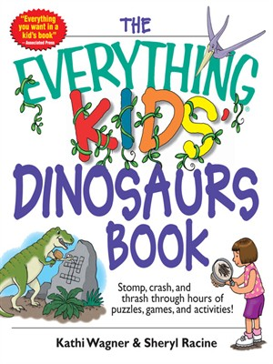 Cover of Everything Kids' Dinosaurs Book