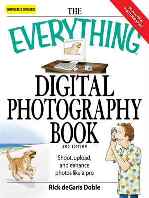 Click this cover for a(n) eBook sample of Everything Digital Photography Book