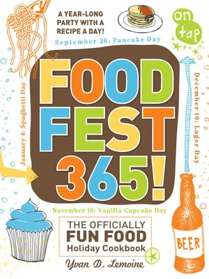 Click this cover for a(n) eBook sample of FoodFest 365!.