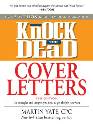 Knock 'em Dead Cover Letters - Library to Go