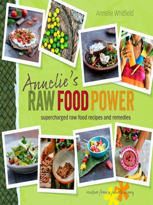 Click this cover for a(n) eBook sample of Annelie's Raw Food Power.