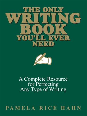 Cover of The Only Writing Book You'll Ever Need