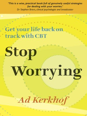 Click this cover for a(n) eBook sample of Stop Worrying.