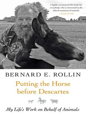 Click this cover for a(n) eBook sample of Putting the Horse before Descartes.