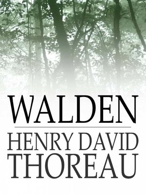 Click this cover for a(n) eBook sample of Walden