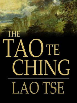 Click this cover for a(n) eBook sample of Tao Te Ching