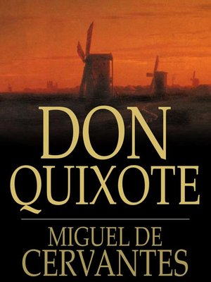 Click this cover for a(n) eBook sample of Don Quixote.