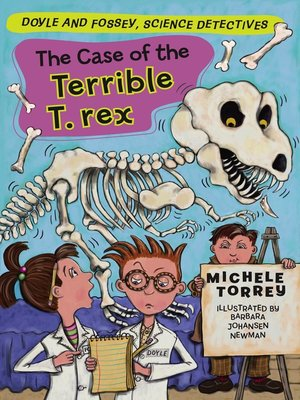 Click this cover for a(n) eBook sample of Case of the Terrible T. Rex.