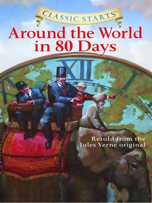 Click this cover for a(n) eBook sample of Around the World in 80 Days.