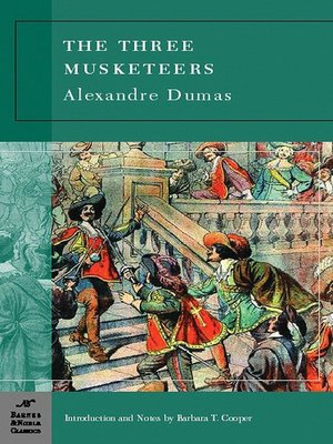 Click this cover for a(n) eBook sample of The Three Musketeers