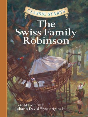 Click this cover for a(n) eBook sample of The Swiss Family Robinson