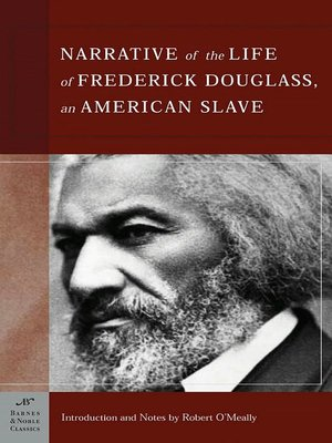 Cover of The Narrative of the Life of Frederick Douglass, An American Slave